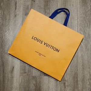 Louis Vuitton Large Paper Shopping Bag